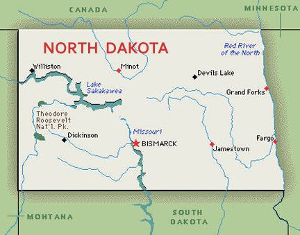 North Dakota Us Map what every state in the u s is worst at