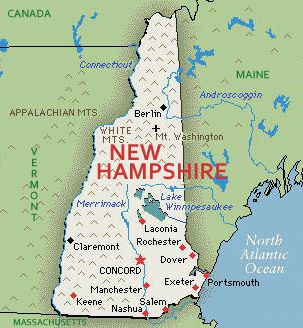 us map state of new hampshire