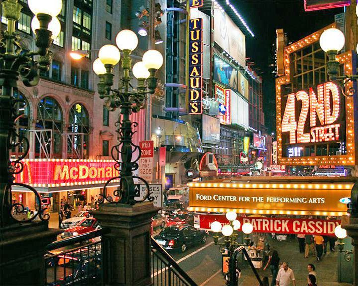 famous streets 42nd Street