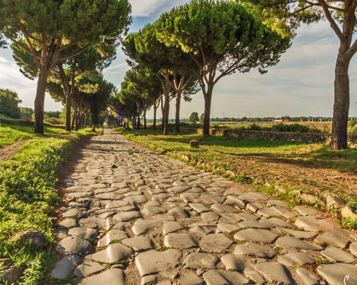 famous streets Appian Way