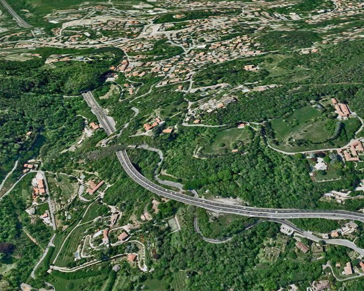 famous streets Autostrada dei Laghi