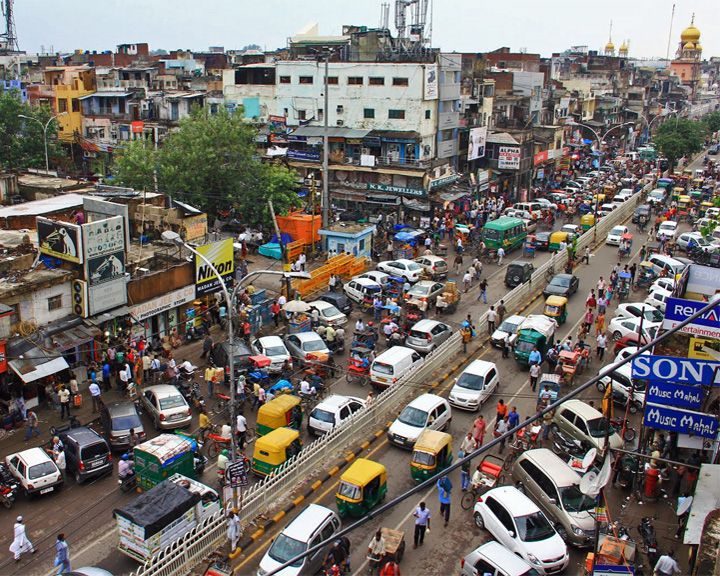 famous streets Chandni Chowk