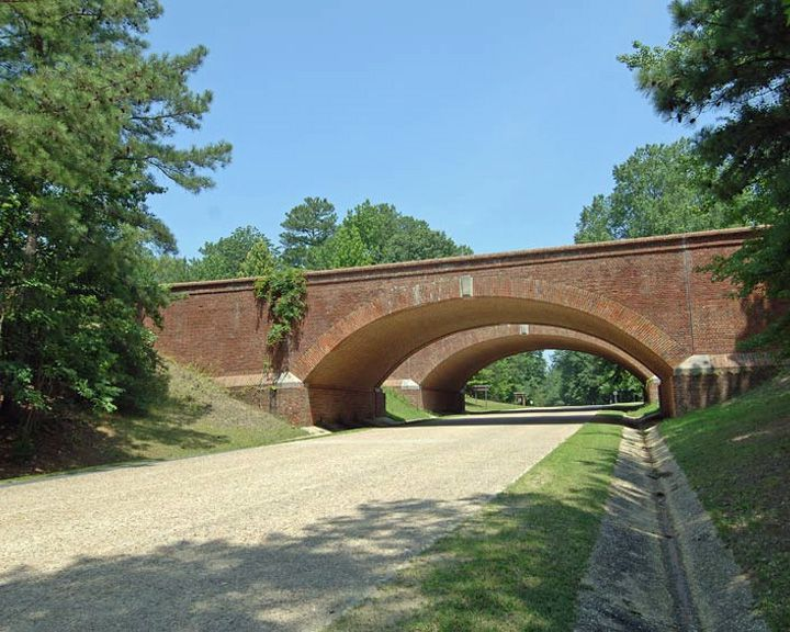 famous streets Colonial Parkway