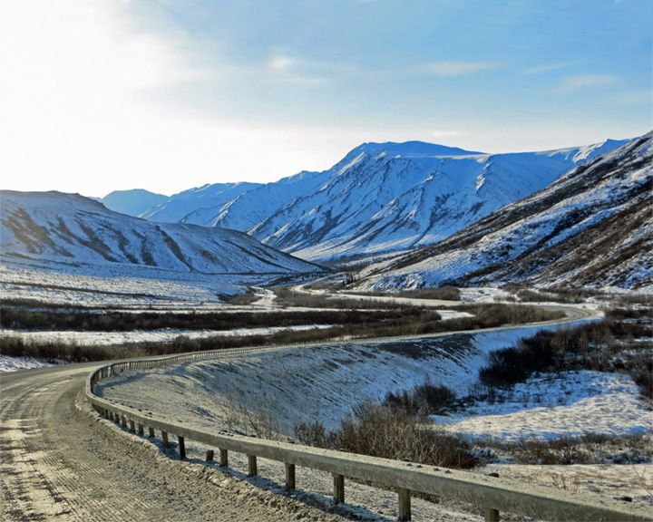 famous streets Dalton Highway