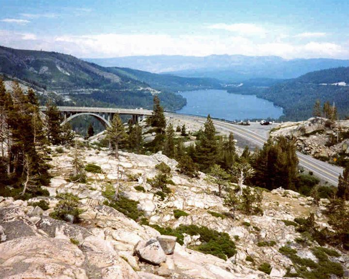 famous streets Donner Pass
