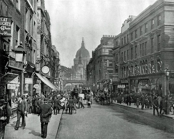famous streets Fleet Street