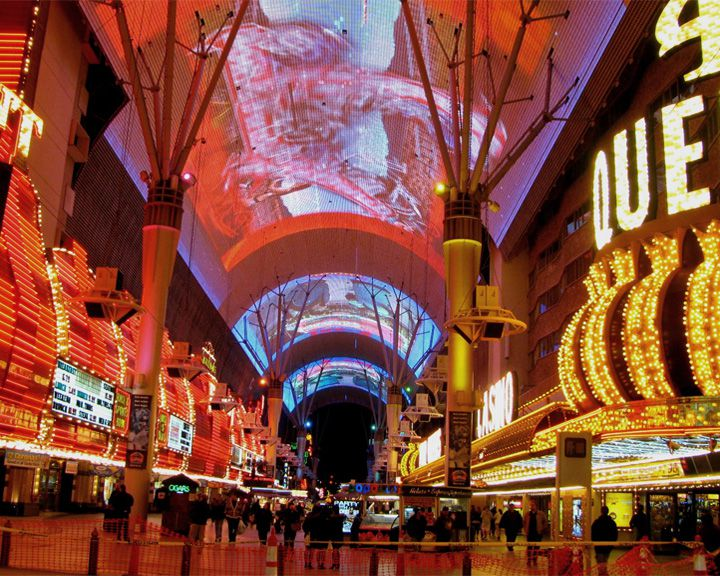 famous streets Fremont Street