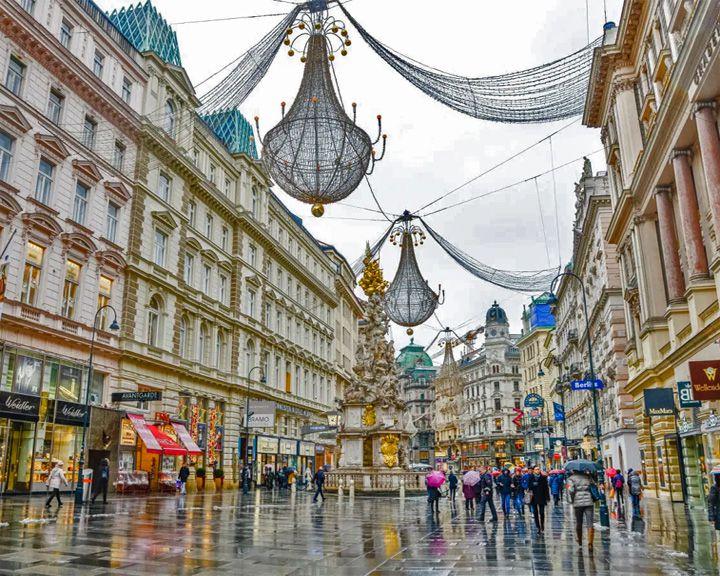famous streets Der Graben