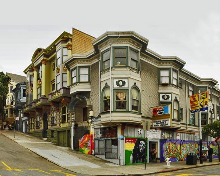 famous streets Haight-Ashbury