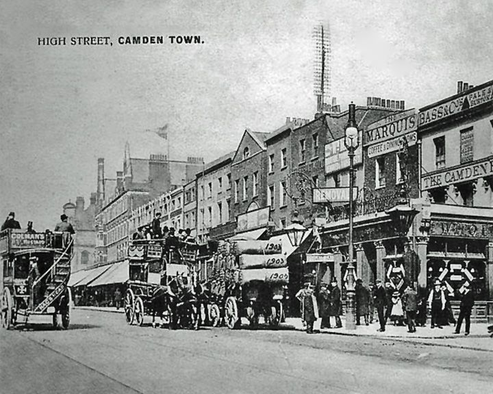 famous streets High Street