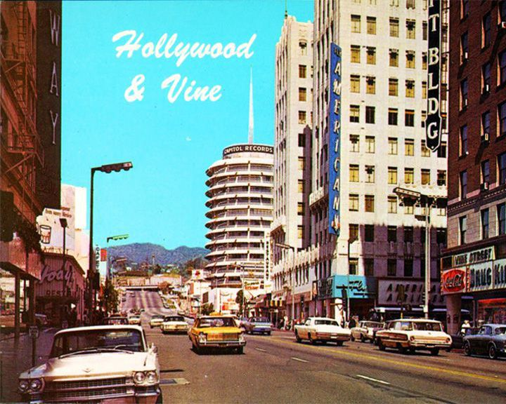 famous streets Hollywood & Vine