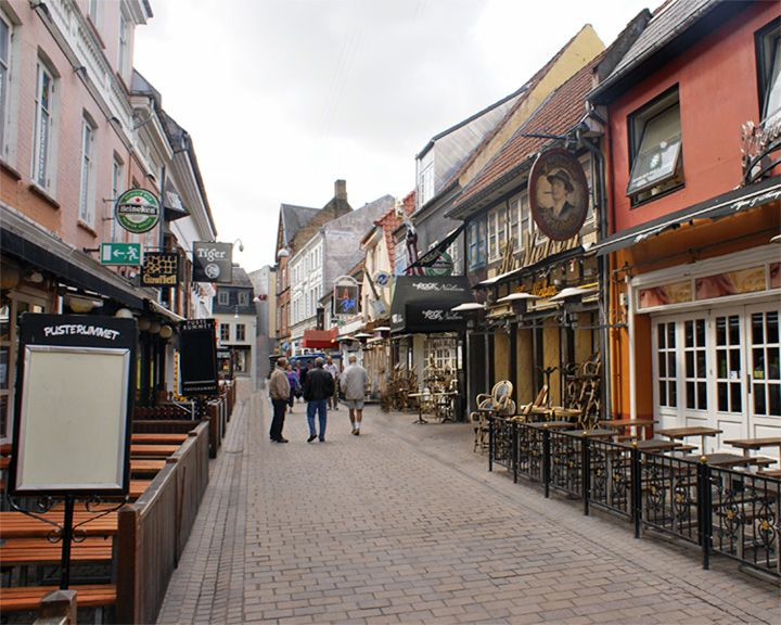 famous streets Jomfru Ane Gade
