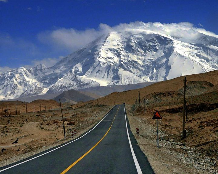 famous streets Karakoram Highway