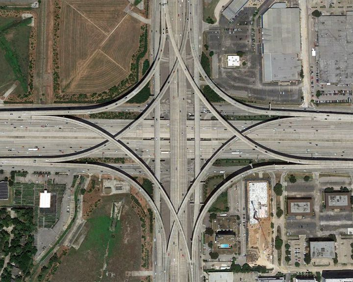 famous streets Katy Freeway