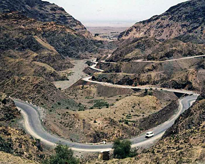 famous streets Khyber Pass