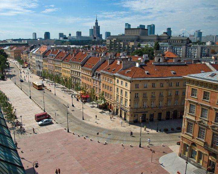 famous streets Krakowskie Przedmiescie