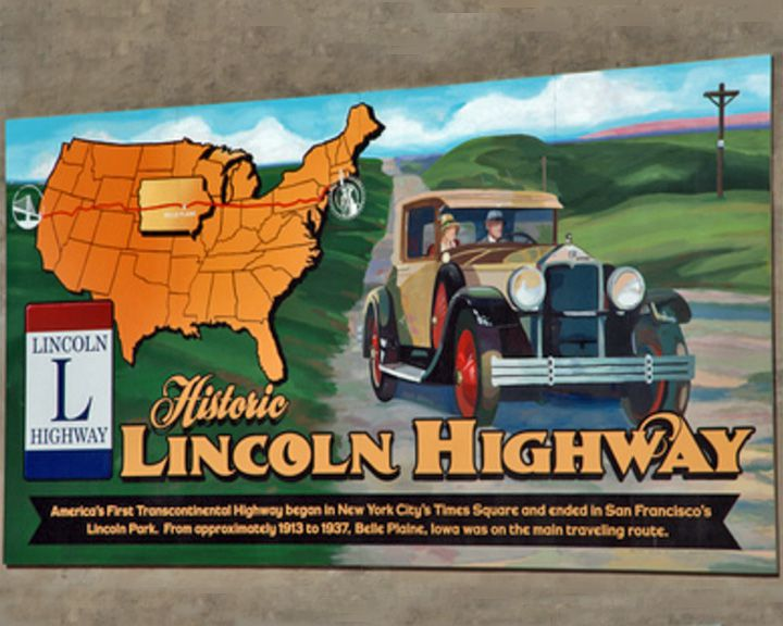 famous streets Lincoln Highway
