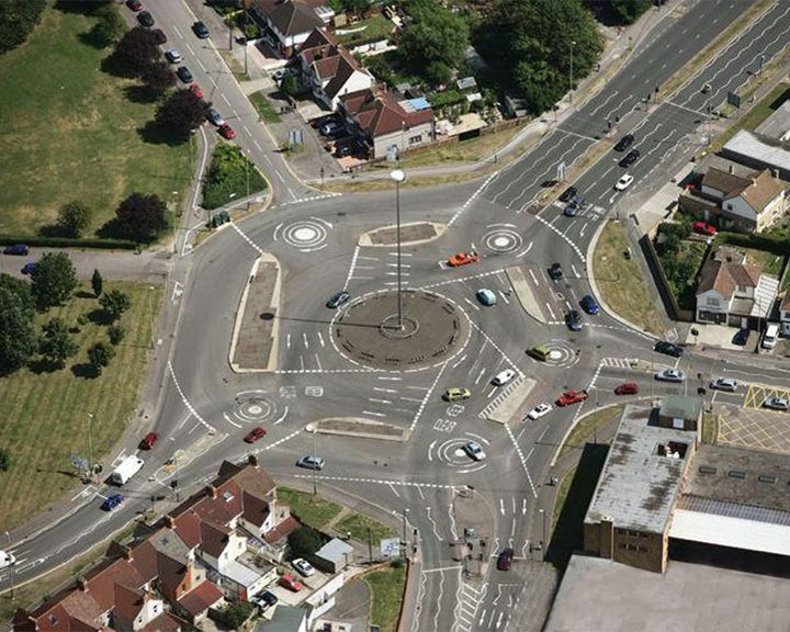 famous streets Magic Roundabout