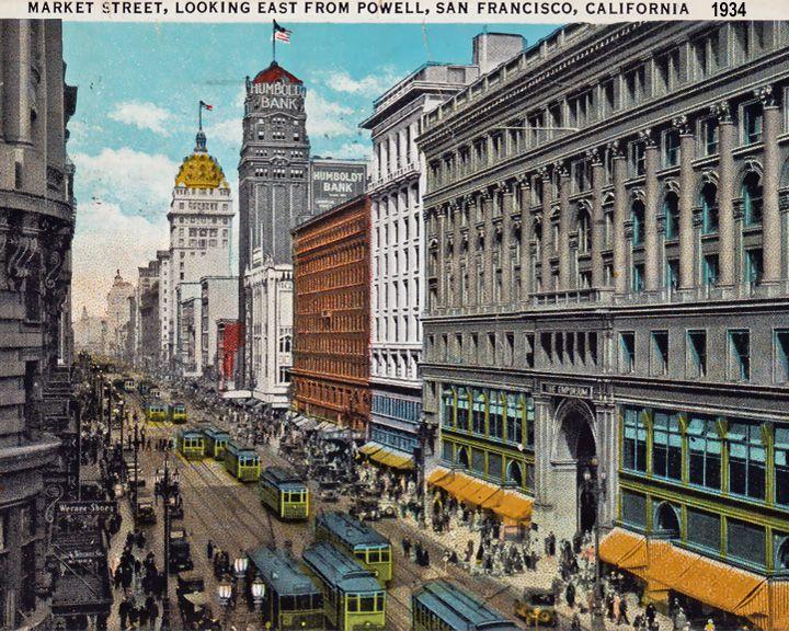 famous streets Market Street