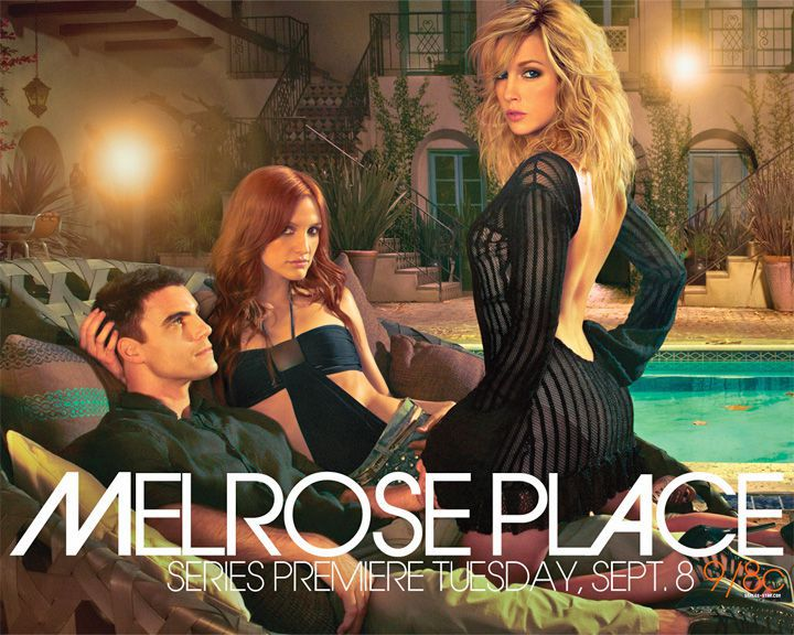 famous streets Melrose Place