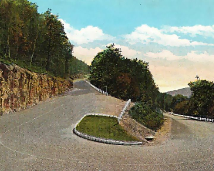 famous streets Mohawk Trail