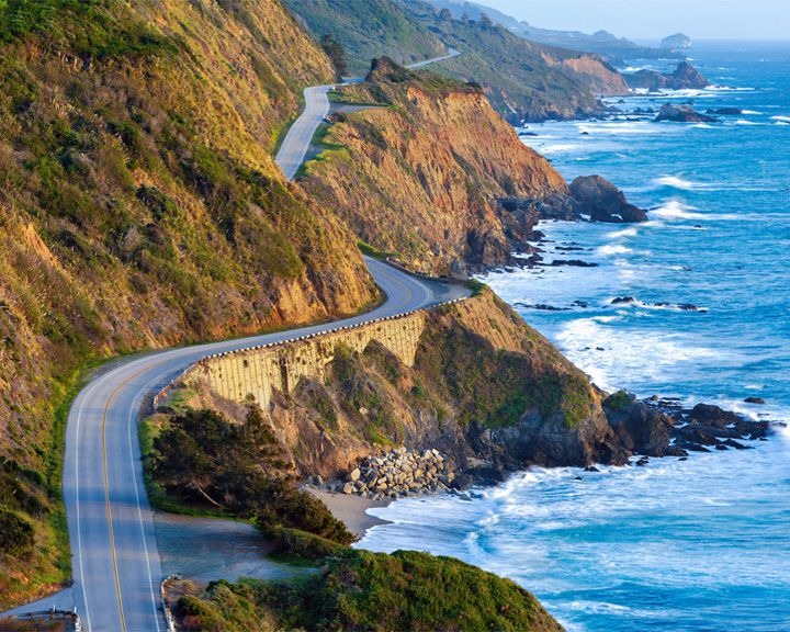 famous streets Pacific Coast Highway