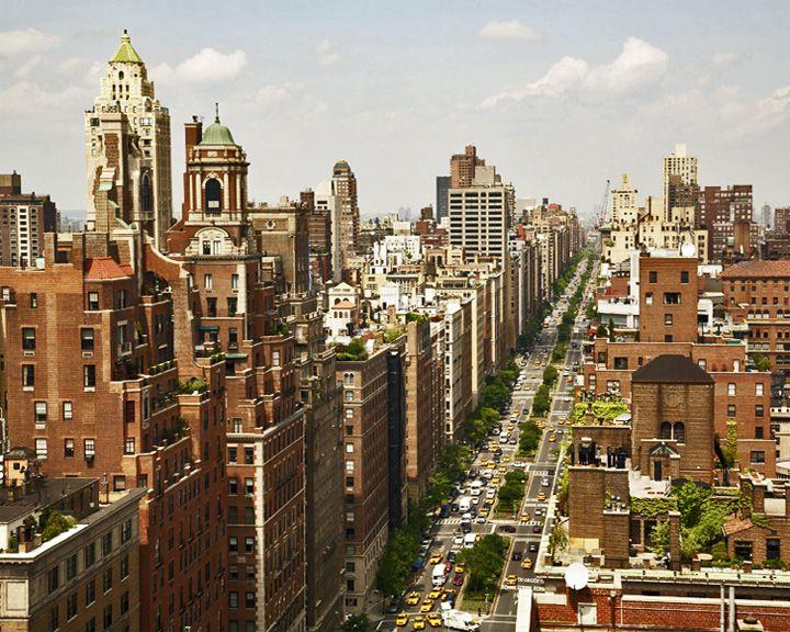 famous streets Park Avenue