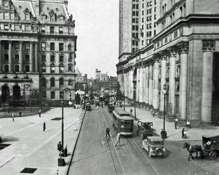 famous streets Park Row