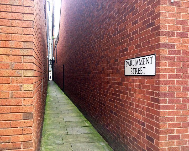 famous streets Parliament Street