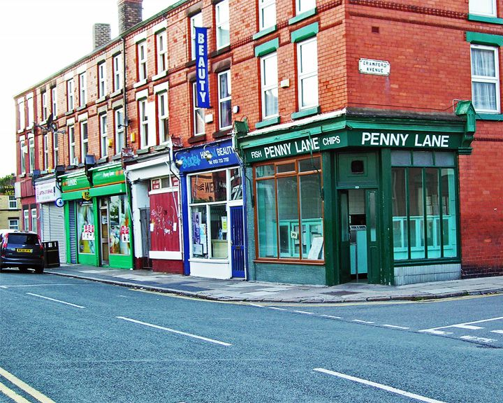 famous streets Penny Lane