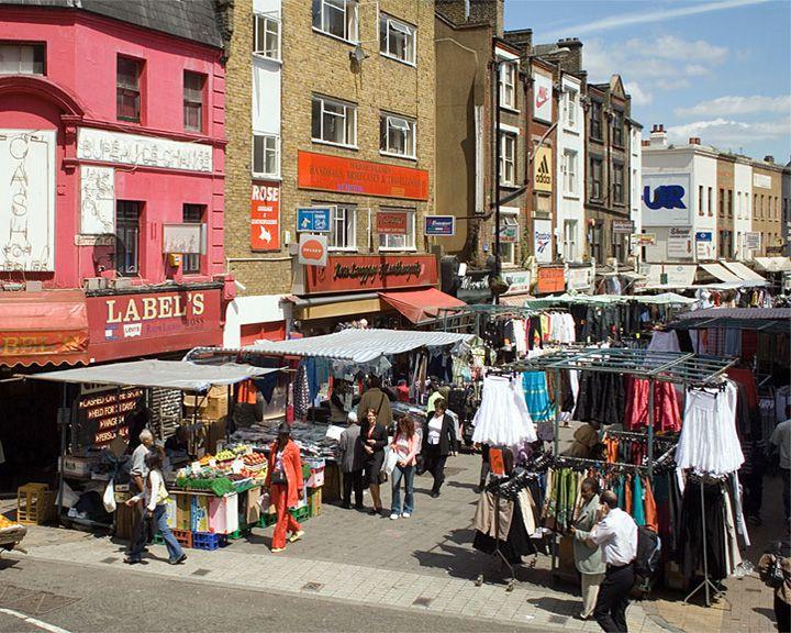 famous streets Petticoat Lane