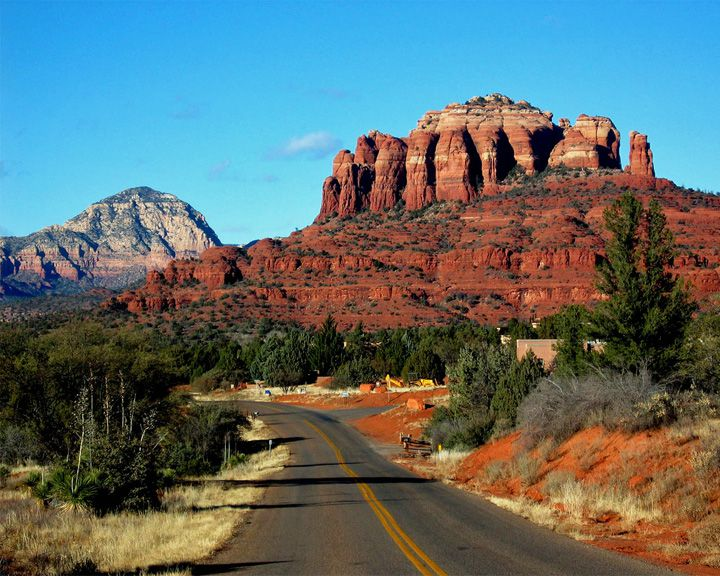 famous streets Red Rock Scenic Byway