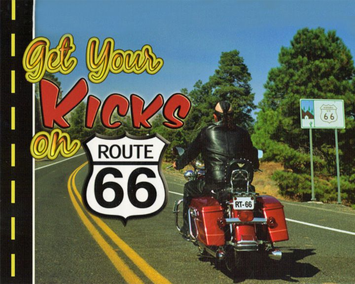 famous streets Route 66