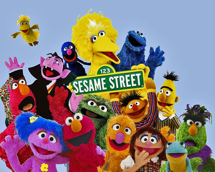 famous streets Sesame Street