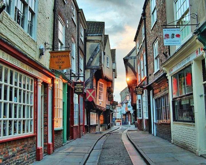famous streets Shambles
