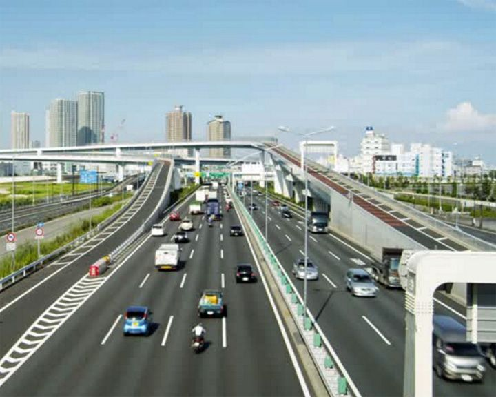 famous streets Shuto Expressway