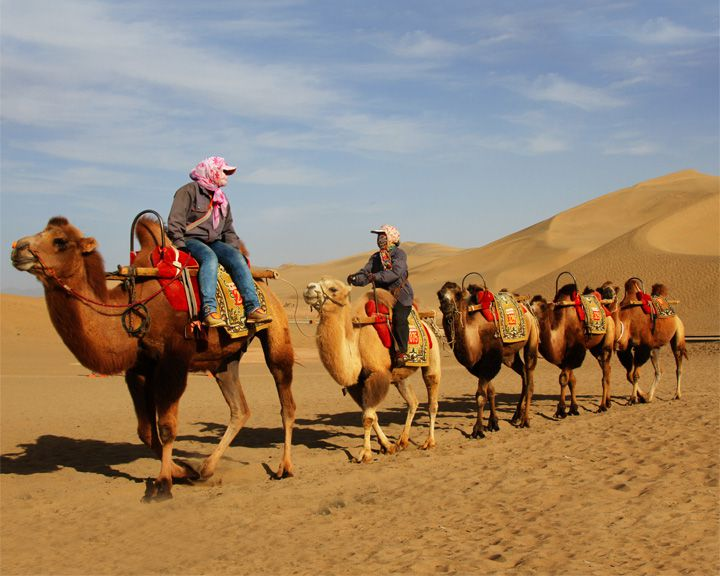 famous streets Silk Road