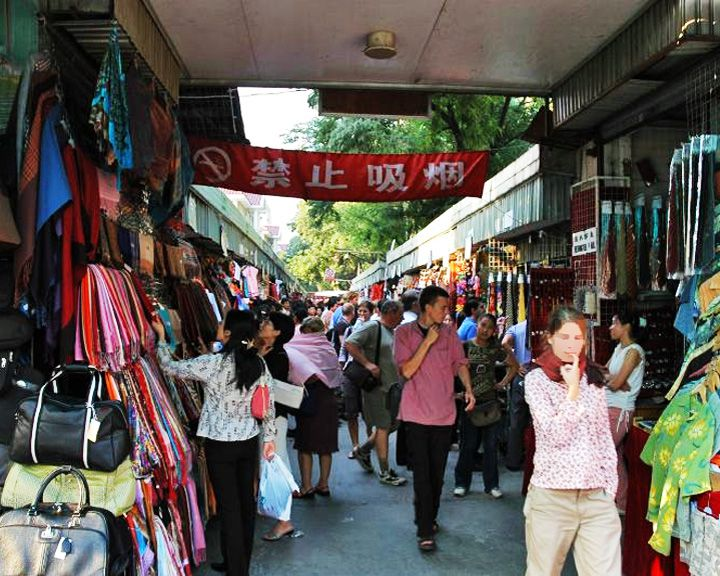 famous streets Silk Alley