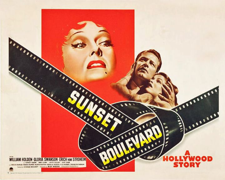 famous streets Sunset Boulevard