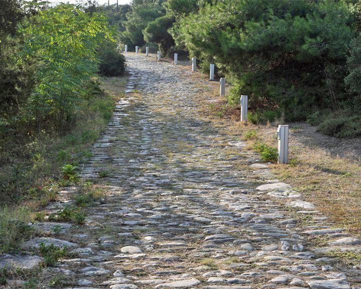 famous streets Via Egnatia