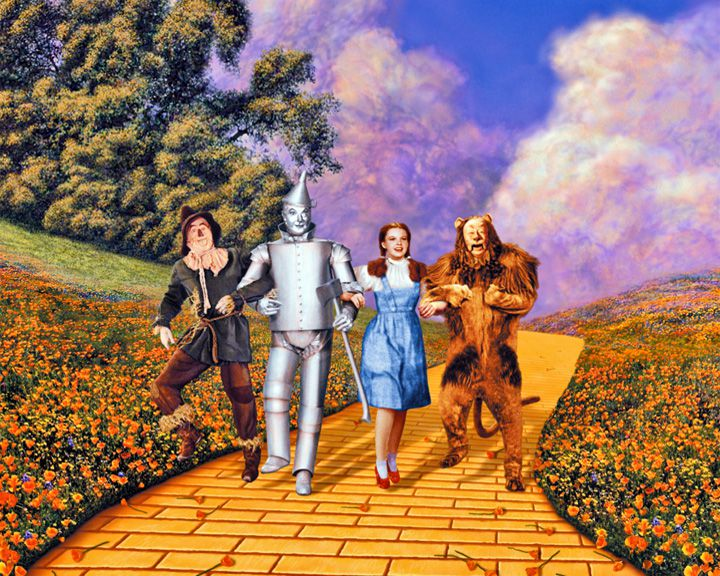 famous streets Yellow Brick Road