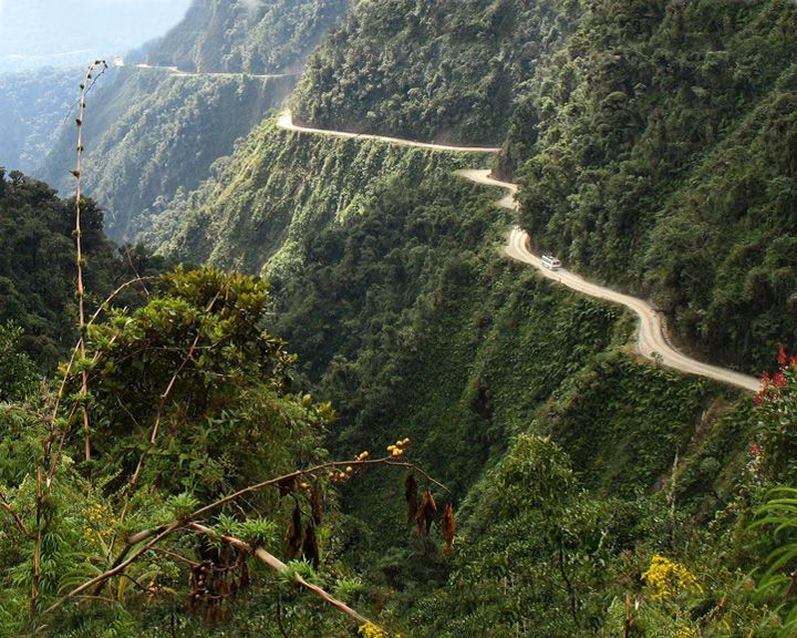 famous streets Yungas Road